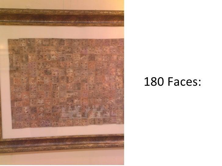 180 Faces: