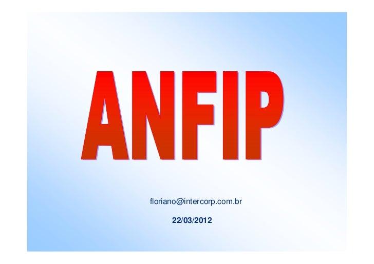 floriano@intercorp.com.br      22/03/2012