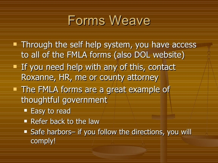 An Fmla And Employee Leave Primer