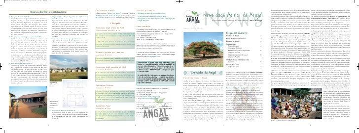 Numero 6 – NOVEMBRE 2010                              N ew s                              News dagli Amici di Angal       ...