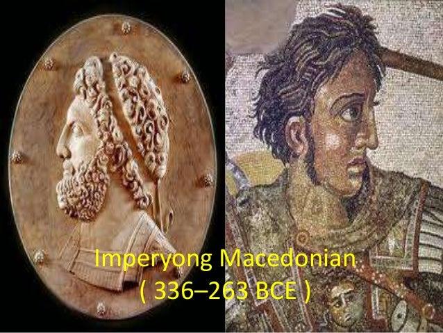 Imperyong Macedonian ( 336–263 BCE )