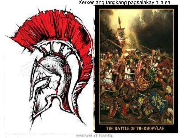 Xerxes ang tangkang pagsalakay nila sa Greece  480 BCE – nagkaroon ng madugong labanan ang puwersa ng Athens at ng puwers...