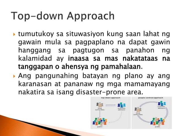  Layunin ng programang ito na maturuan ang mga lokal na pinuno sa pagbuo ng Community Based Disaster Risk Management Plan.