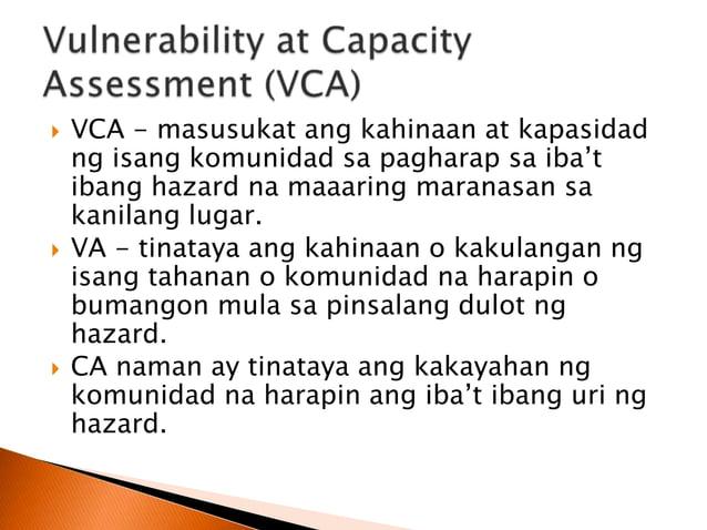 Dalawang Uri ng Mitigation Structural Mitigation Timutukoy sa mga paghahandang ginagawa sa pisikal na kaanyuan ng isang ko...