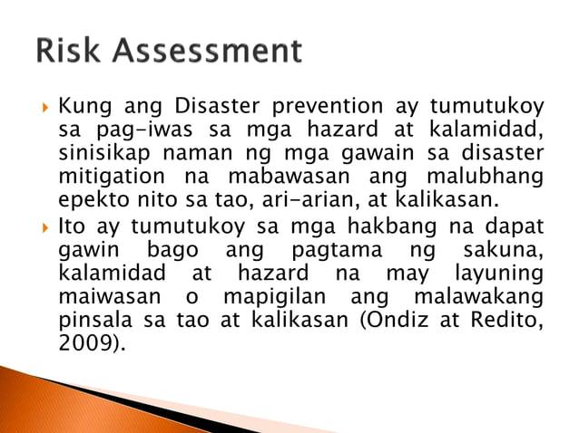 5. Isa sa mahalagang produkto ng risk assessment ay ang pagtatala ng mga hazard at pagtukoy kung alin sa mga ito ang dapat...