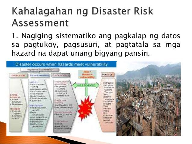 1. To inform – magbigay kaalaman tungkol sa mga hazard, risk, capability, at pisikal na katangian ng komunidad. 2. To advi...