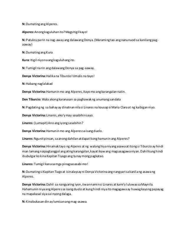 Ang Dalawang Senyora Script
