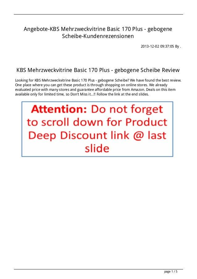 Angebote-KBS Mehrzweckvitrine Basic 170 Plus - gebogene Scheibe-Kundenrezensionen 2013-12-02 09:37:05 By .  KBS Mehrzweckv...