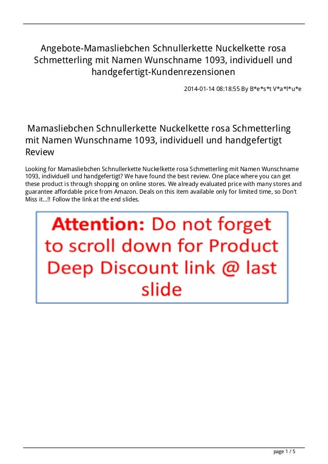 Angebote-Mamasliebchen Schnullerkette Nuckelkette rosa Schmetterling mit Namen Wunschname 1093, individuell und handgefert...
