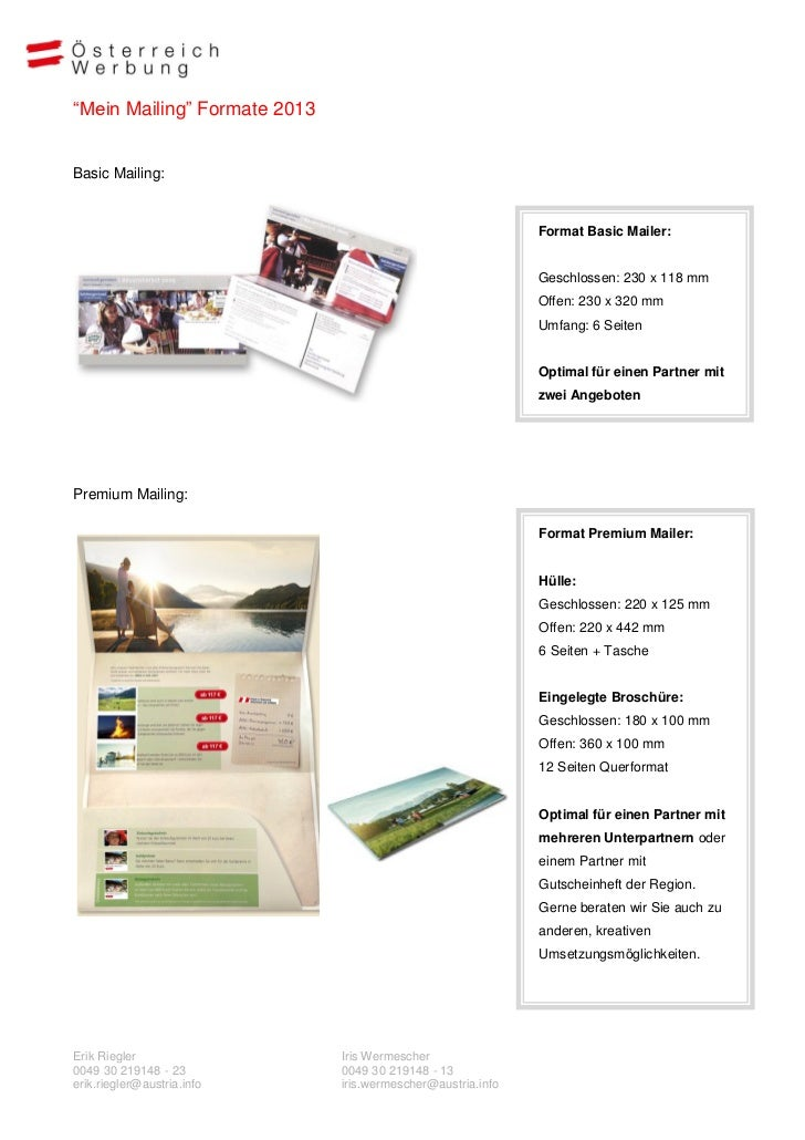 Angebot exklusiv mailing_2013 Slide 3