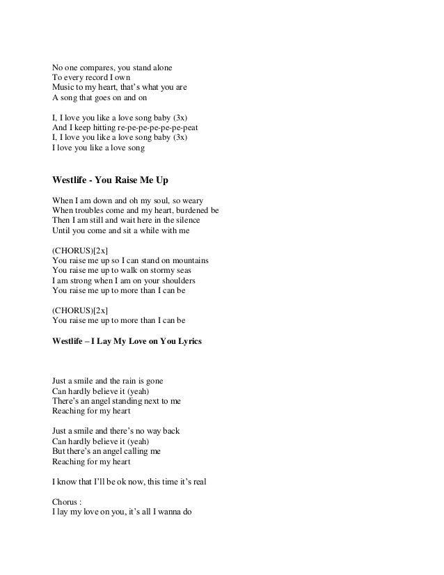 Westlife - Angel's Wings Lyrics | MetroLyrics