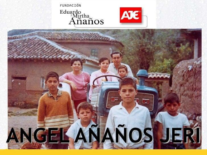 ANGEL AÑAÑOS JERI