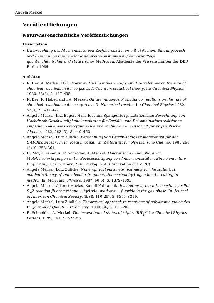 Angela merkel phd thesis
