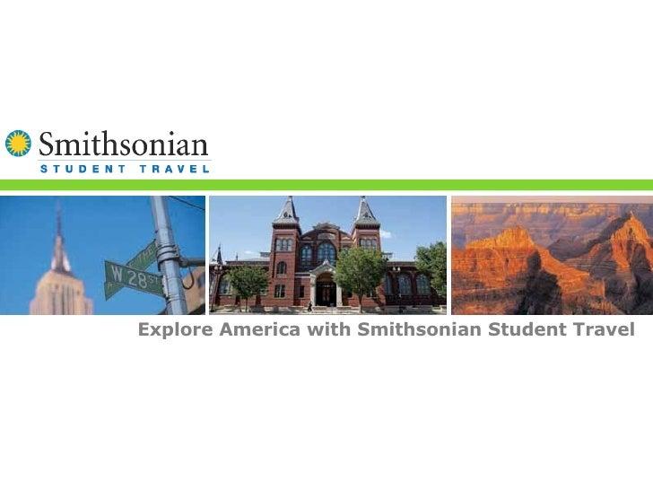 Explore America with Smithsonian Student Travel