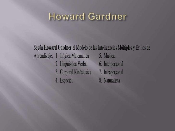 Howard Gardner<br />