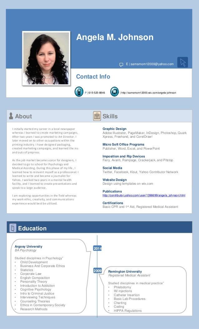 fb resume