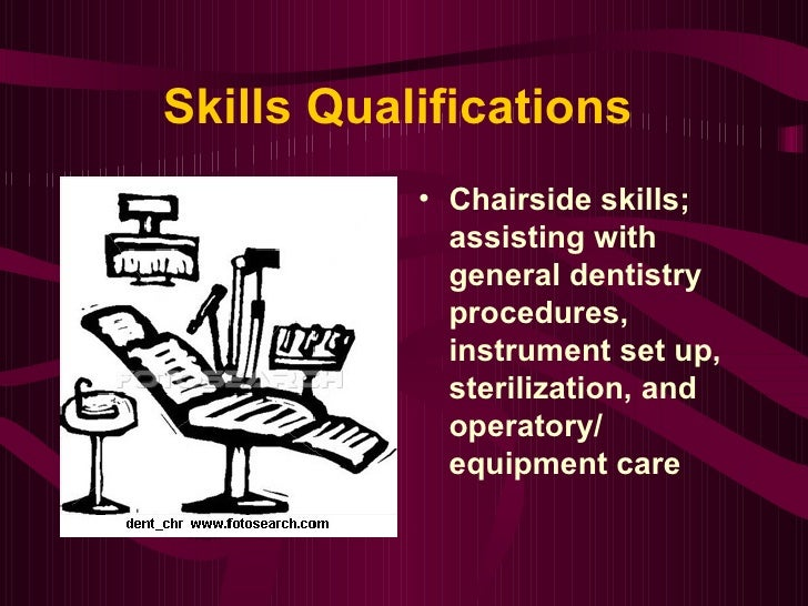 angela smith power point resume for dental assisting