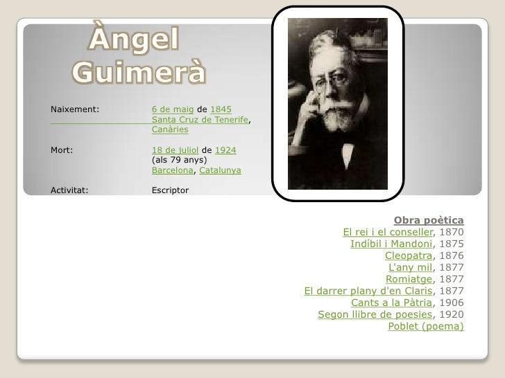 Naixement:   6 de maig de 1845             Santa Cruz de Tenerife,             CanàriesMort:        18 de juliol de 1924  ...