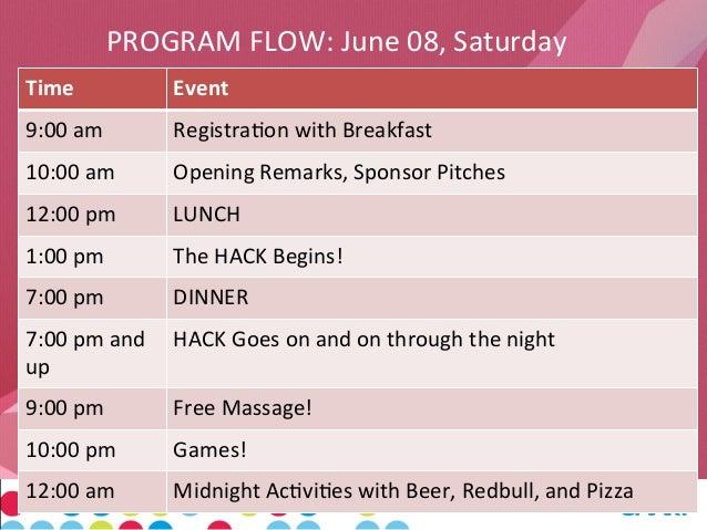 program event