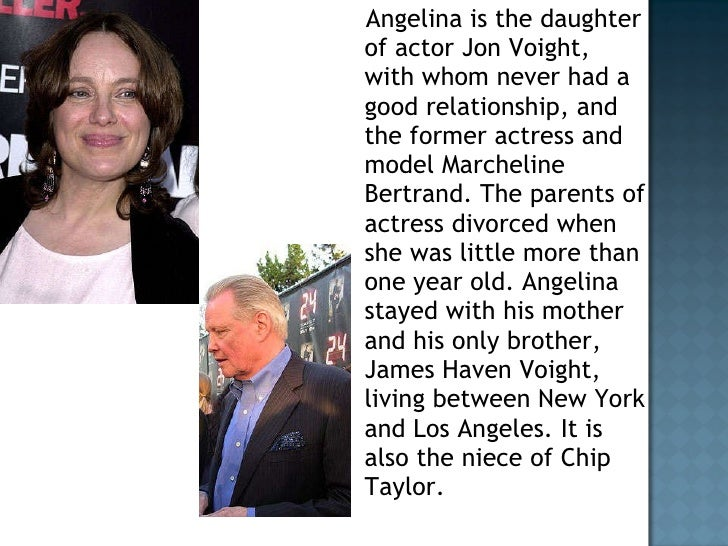 jon voight and angelina jolie relationship with universal studios