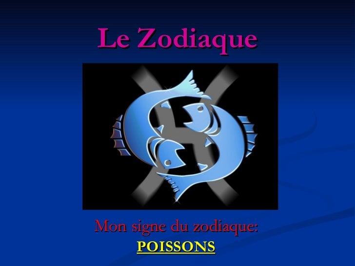 Le Zodiaque Mon signe du zodiaque: POISSONS