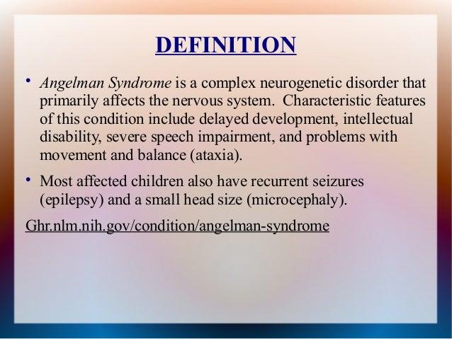 Angelman syndrome essay