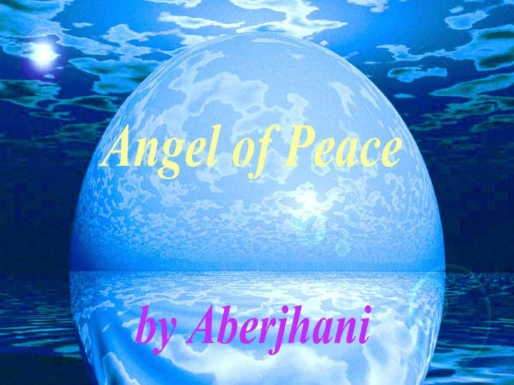Angel of Peace by Aberjhani (poem with text and art)
