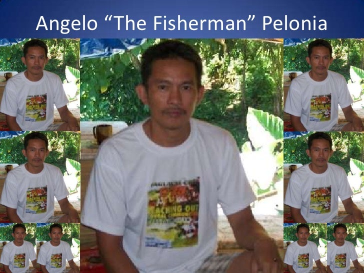 """Angelo """"The Fisherman"""" Pelonia<br />Shown above is a group of 12 fisherman ( not all are shown) on their boat fishing for ..."""