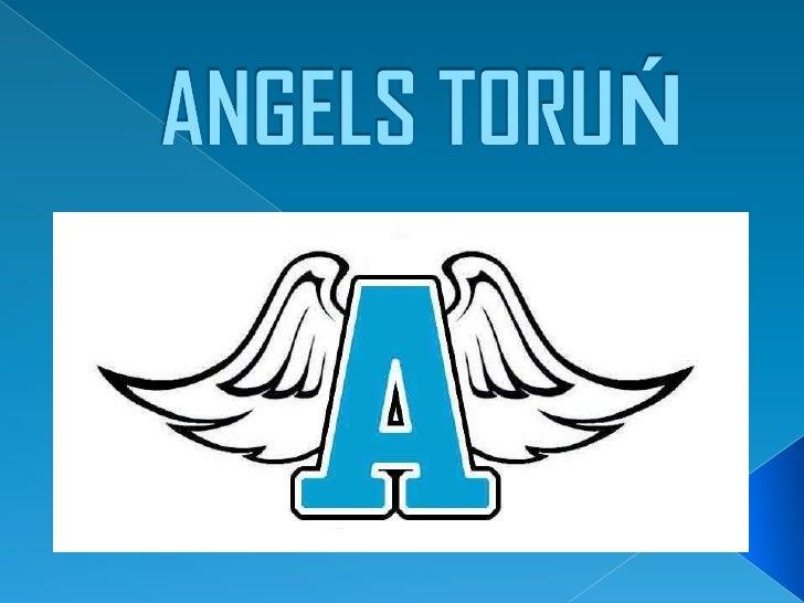 """ Angels Toruń- pierwsza w """"grodzie Kopernika"""" drużyna  futbolu amerykańskiego, założona w 2011, występująca w  Polskiej L..."""