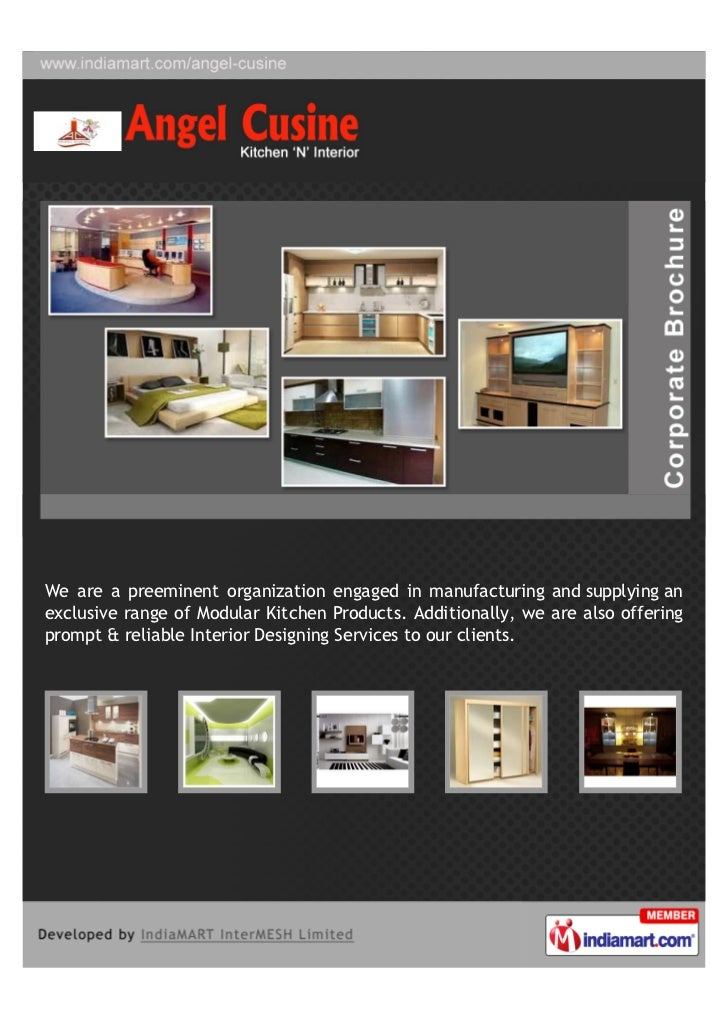 We are a preeminent organization engaged in manufacturing and supplying anexclusive range of Modular Kitchen Products. Add...