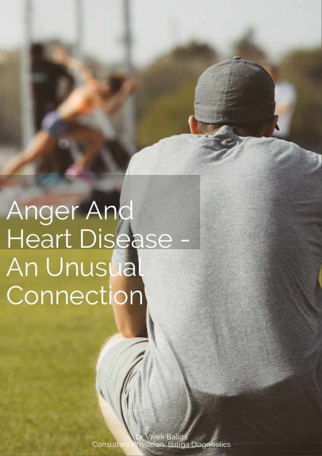 Anger And Heart Disease - An Unusual Connection Dr Vivek Baliga Consultant Physician, Baliga Diagnostics