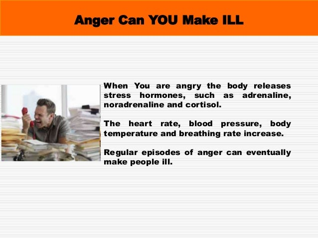 Why Manage Anger? Anger is not usually a good solution to problems, even if it seems helpful in the short term. Unmanaged ...