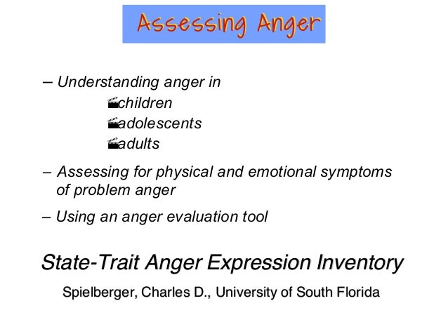 modes of expression of anger in adolescents Then, they performed a homemade version of the facial expressions megamix   interpret ambiguous emotional expressions as fearful rather than angry (in the   continue to develop structurally throughout childhood and adolescence, it is   methods the ethical committee of the university du québec en.