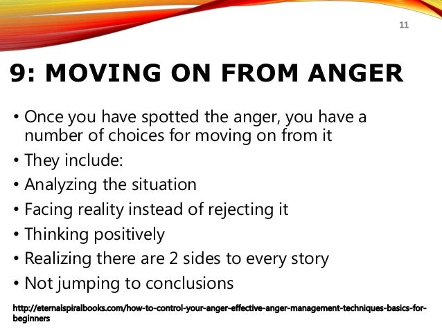 how to control your anger anger management techniques for beginnerseternalspiralbooks com how to control your anger effective anger management techniques basics for beginners 11; 11