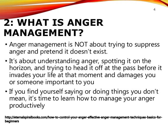 how to control your anger anger management techniques for beginnerseternalspiralbooks com how to control your anger effective anger management techniques basics for beginners 4; 4