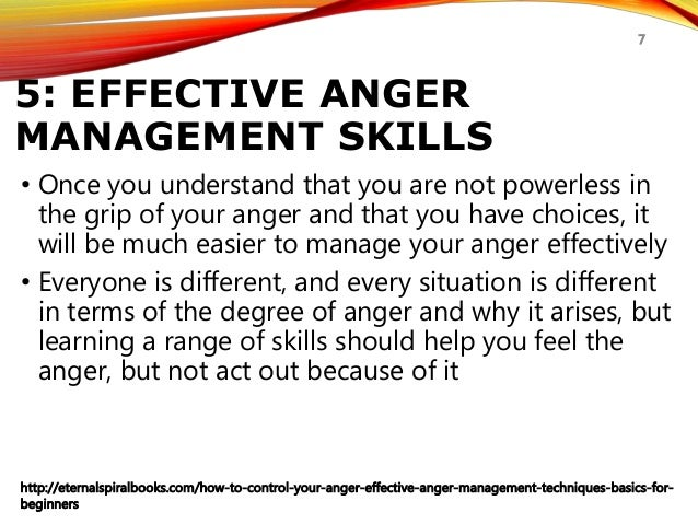 how to control your anger anger management techniques for beginnerseternalspiralbooks com how to control your anger effective anger management techniques basics for beginners 7; 7