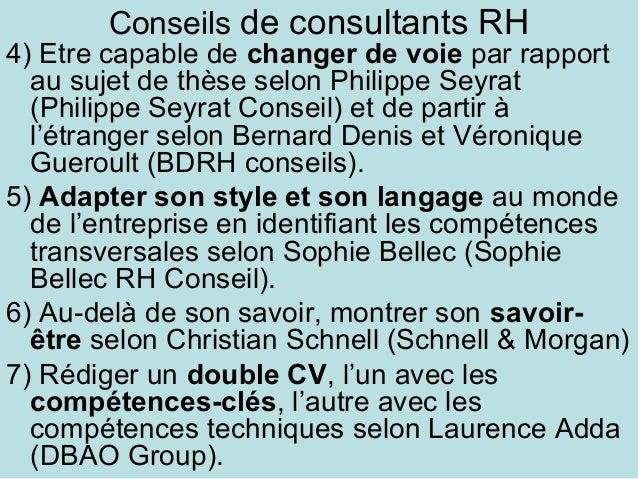 comp u00e9tences professionnelles et valorisation du doctorat  angers  2 m u2026