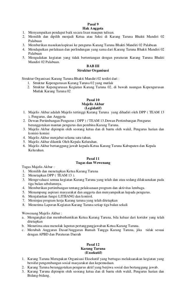 Contoh Surat Pengunduran Diri Dari Organisasi Karang Taruna