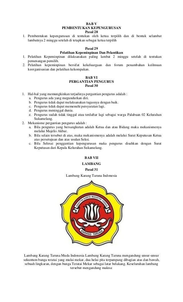 Surat Pengunduran Diri Sebagai Ketua Karang Taruna - Bagi ...
