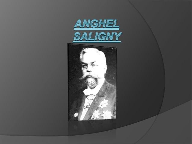  Anghel Saligny(nascut pe 19 aprilie1854, Şerbăneşti,jud.Galaţi- decedat 17 iunie 1925, Bucureşti),academician, inginer c...