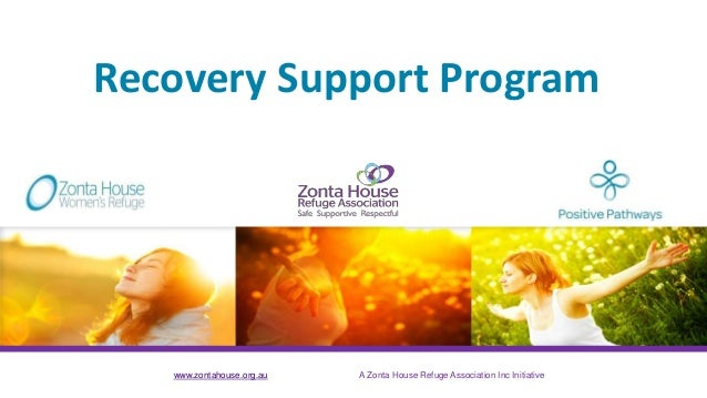 www.zontahouse.org.au A Zonta House Refuge Association Inc Initiative Recovery Support Program