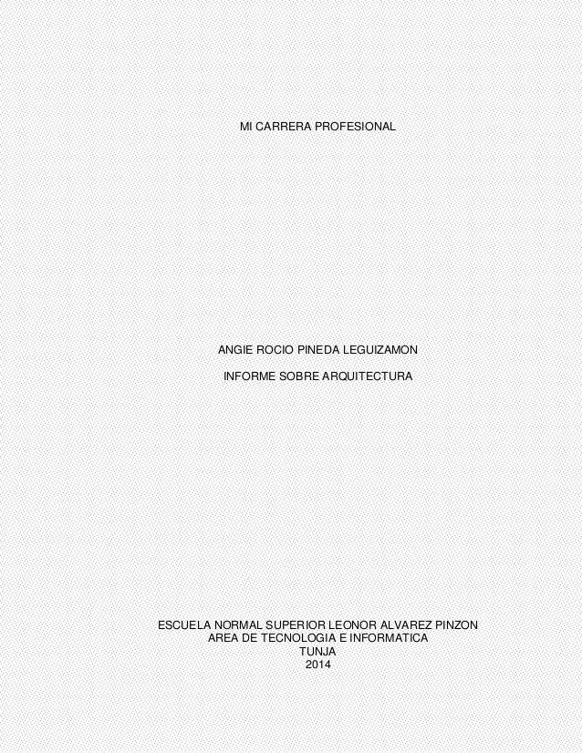 Carrera profesional for Arquitectura carrera profesional