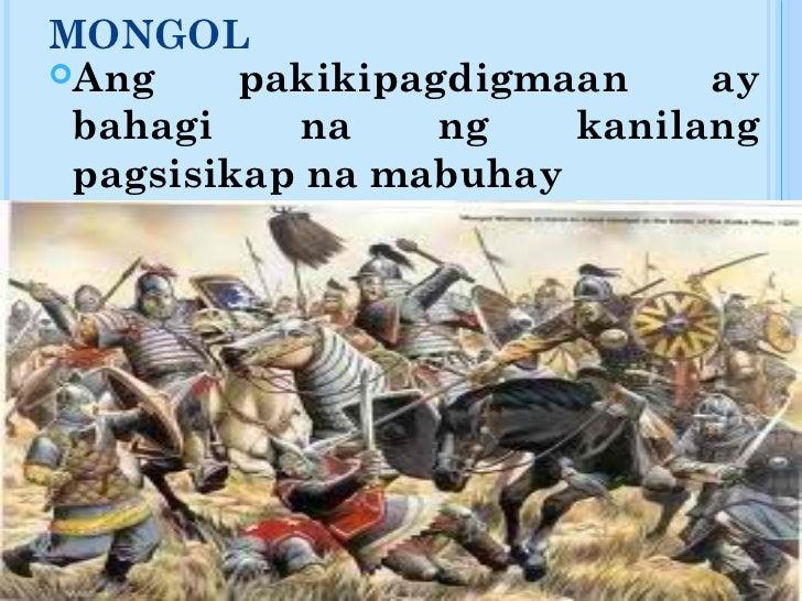 ang imperyong mongol