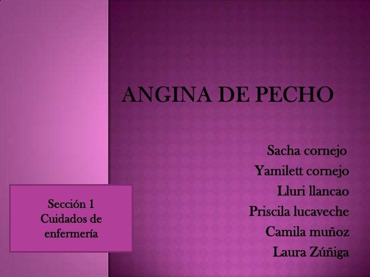 Sacha cornejo               Yamilett cornejo                   Lluri llancao Sección 1Cuidados de              Priscila lu...