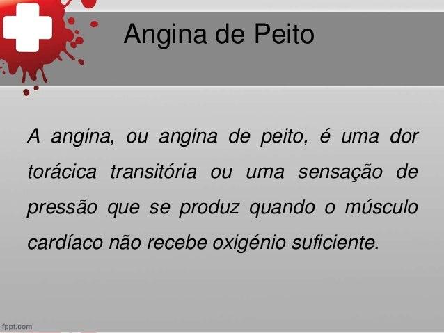 Angina Peito e Enfarte Agudo do Miocárdio Slide 3
