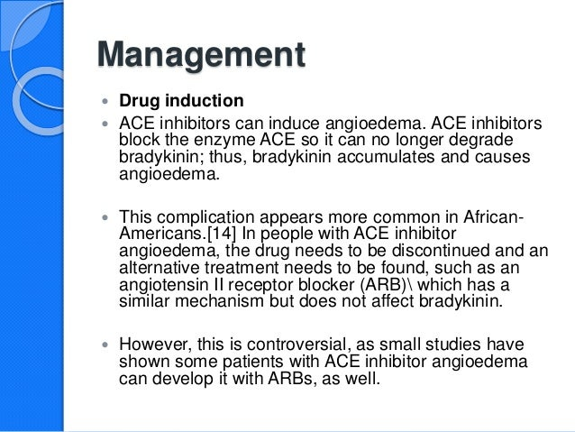 What are some common ACE inhibitors?
