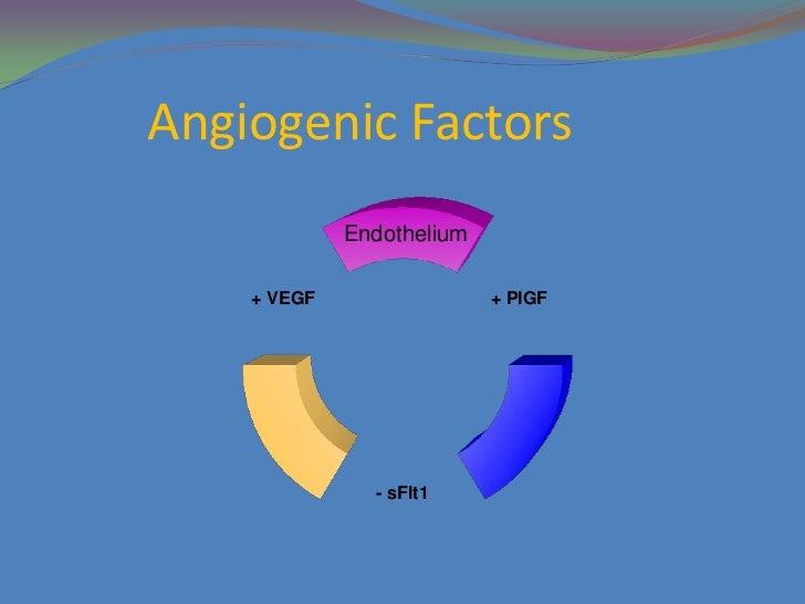 Angiogenic Markers In Pre Eclampsia