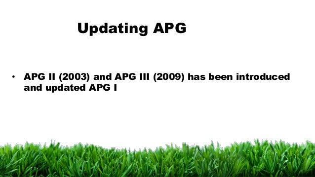 APG III system