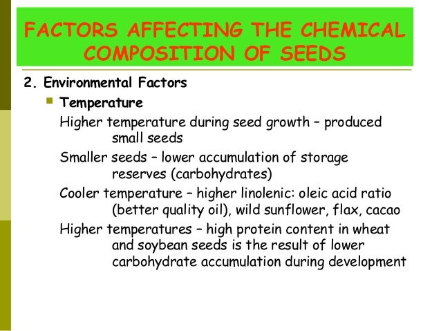 Plant Chemical Components : Angiosperm seed formation and development