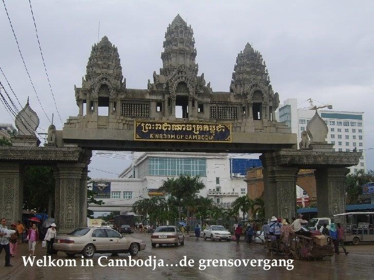 Welkom in Cambodja…de grensovergang